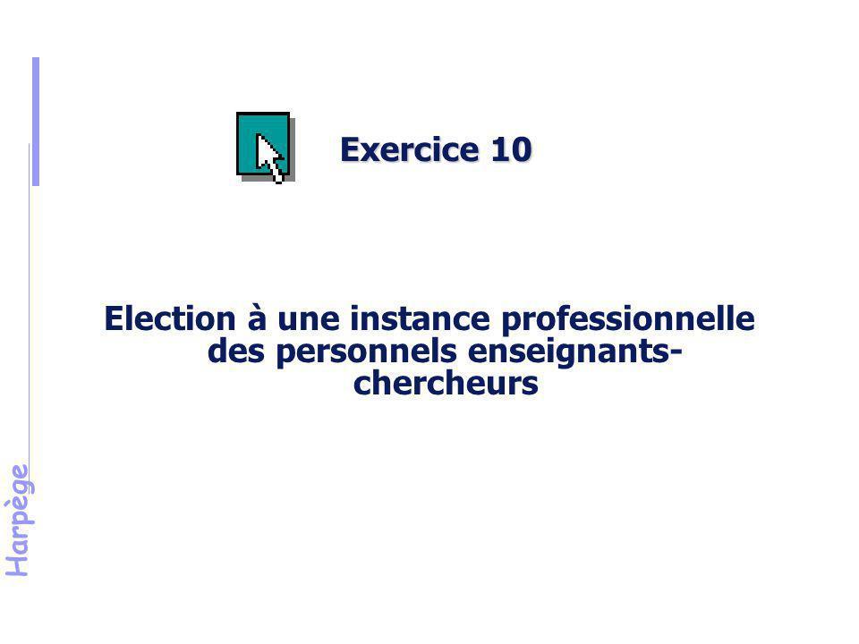 Harpège Exercice n°10 (suite)