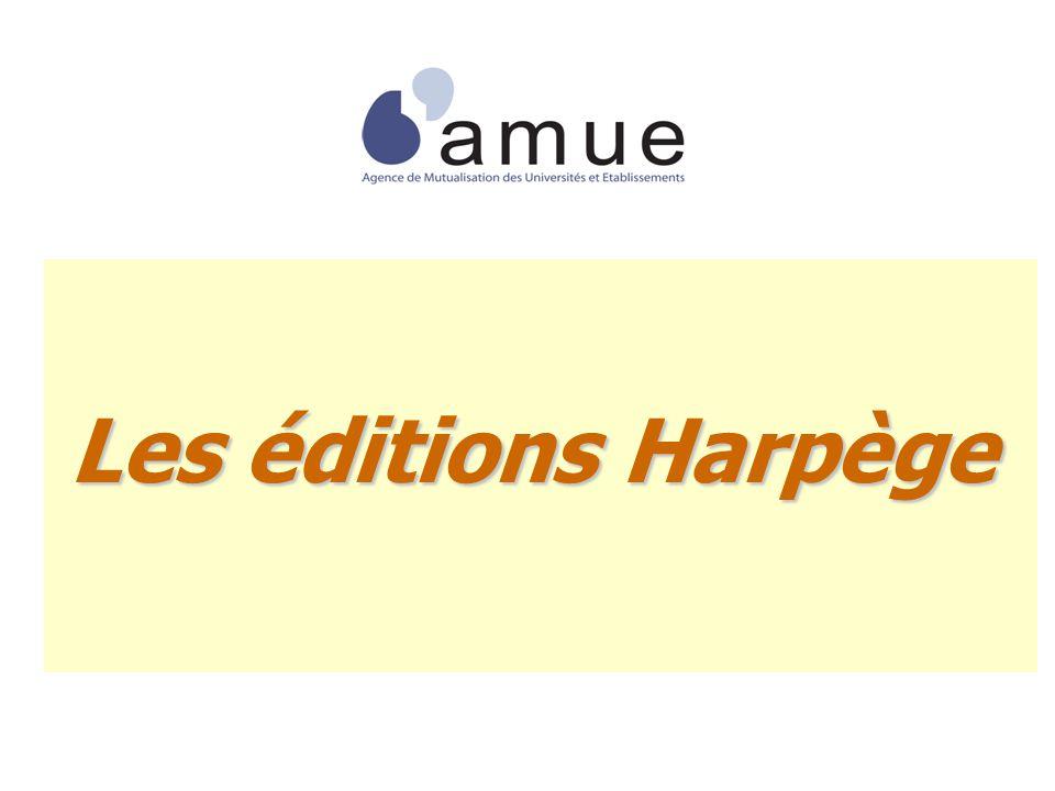 Les éditions Harpège