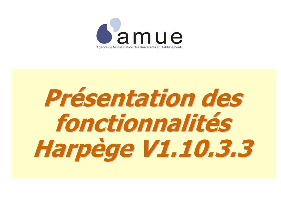 Présentation des fonctionnalités Harpège V1.10.3.3