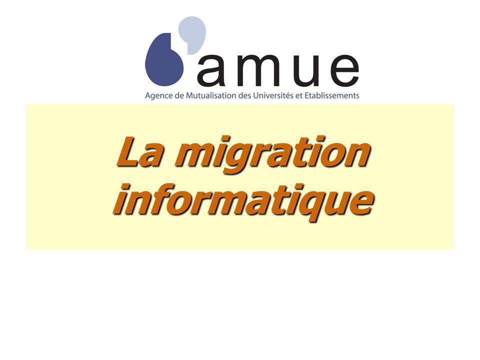 La migration informatique