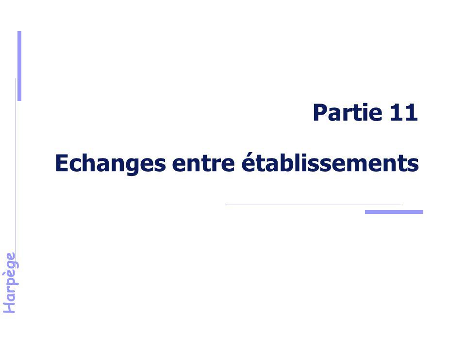 Harpège Partie 11 Echanges entre établissements