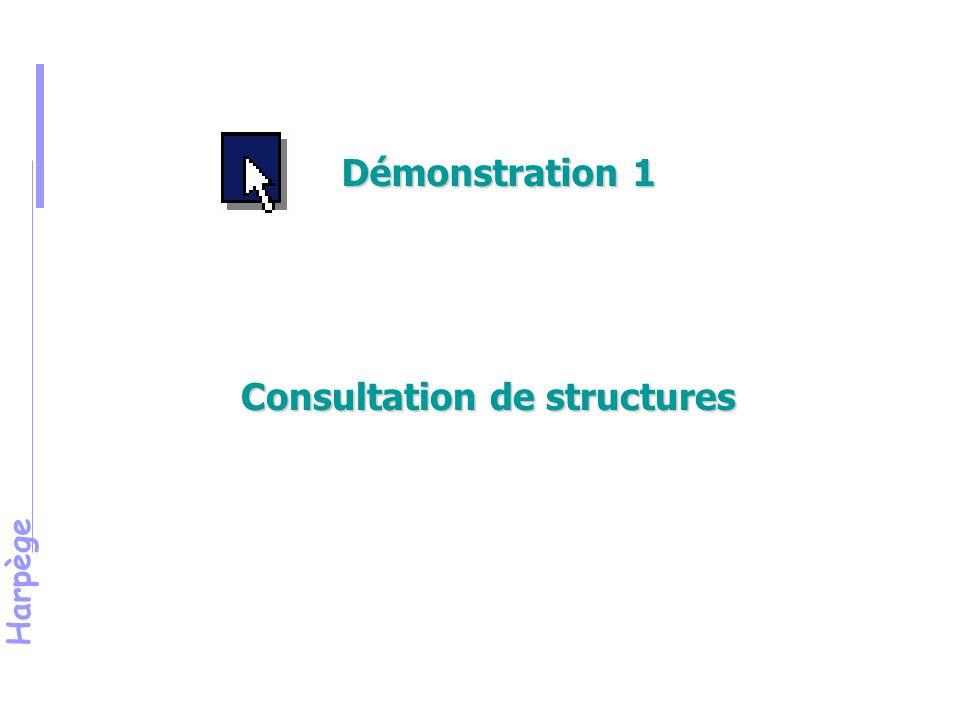 Harpège Consultation de structures Démonstration 1