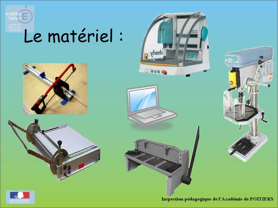 Le matériel :