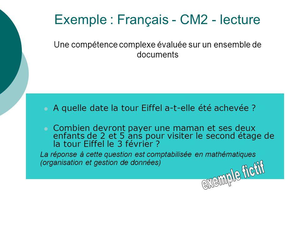 A quelle date la tour Eiffel a-t-elle été achevée ? Combien devront payer une maman et ses deux enfants de 2 et 5 ans pour visiter le second étage de