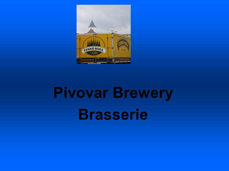 Pivovar Brewery Brasserie