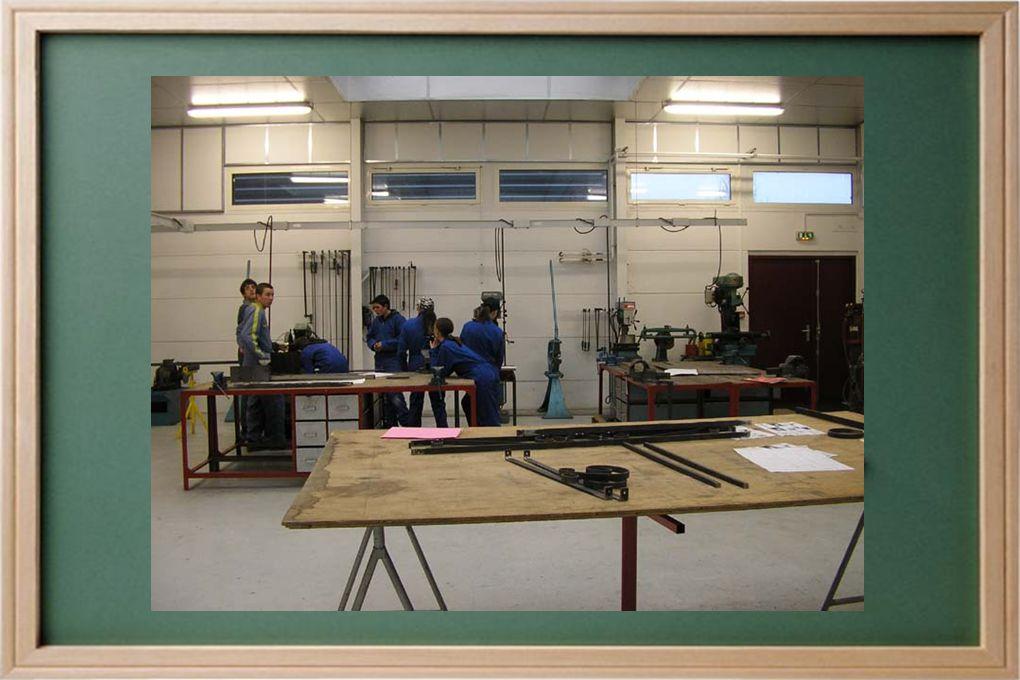 Atelier Production Aménagement Finition Métallique