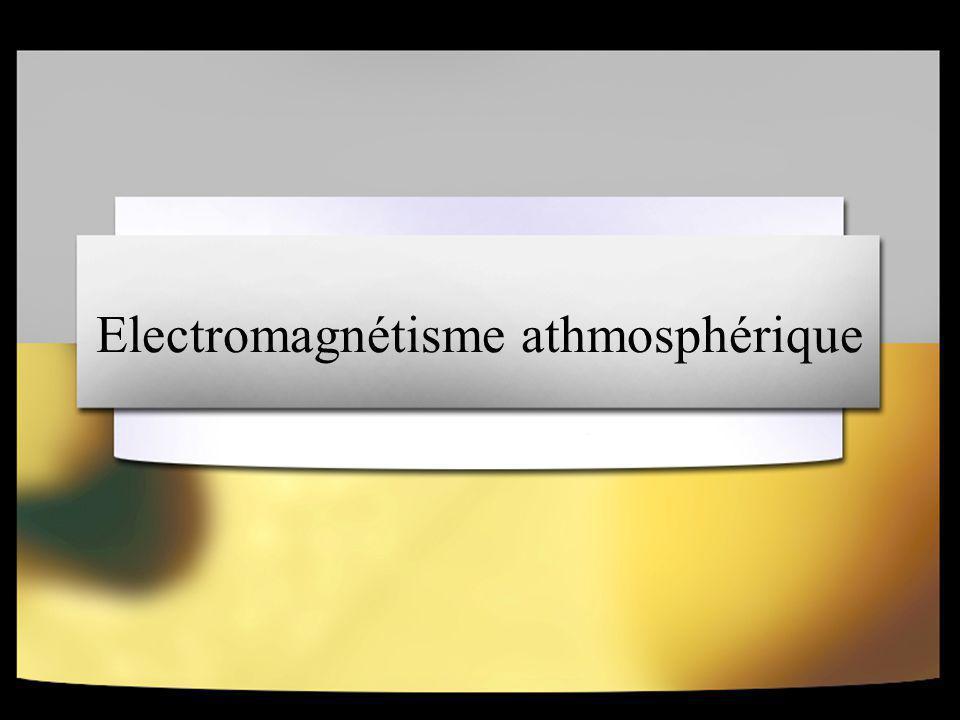 Electromagnétisme athmosphérique