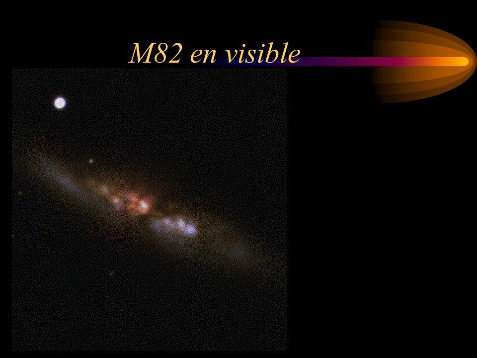 Messier 82 en InfraRouge