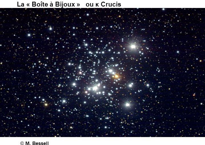 La « Boîte à Bijoux » ou κ Crucis © M. Bessell