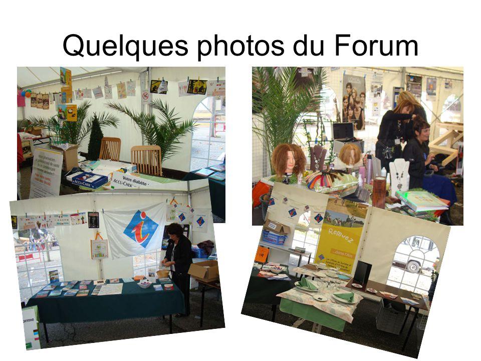 Quelques photos du Forum