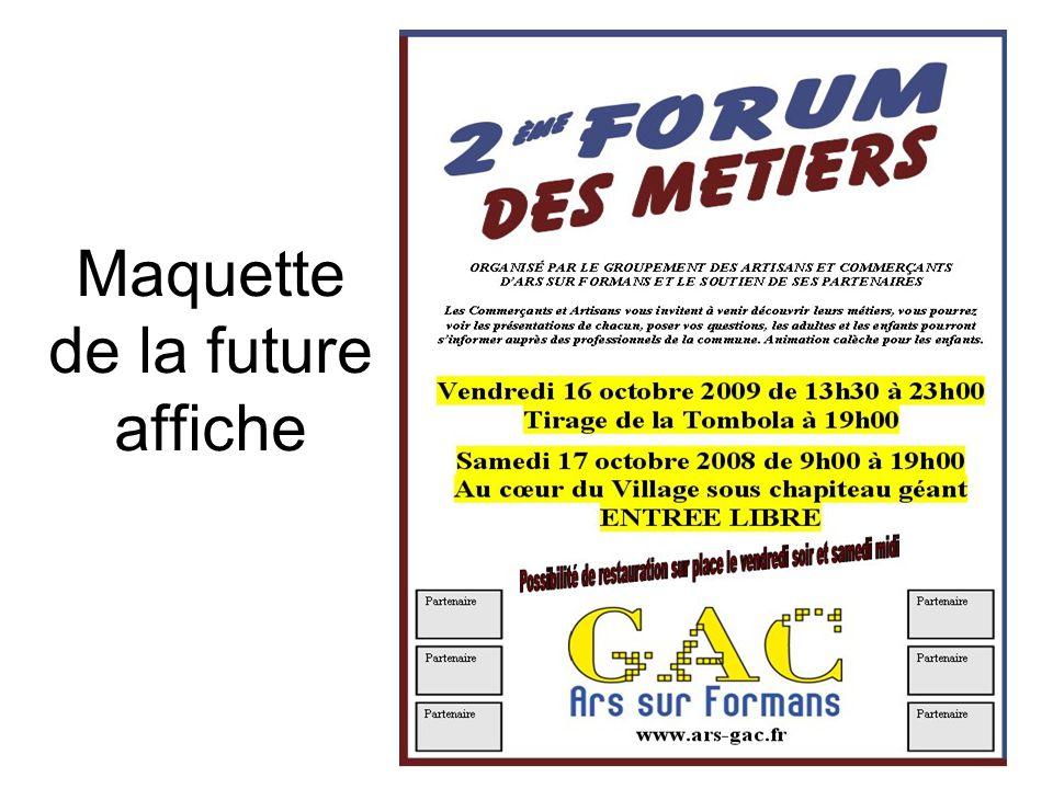 Le premier Forum des Métiers 2008 Les enfants découvrent les métiers