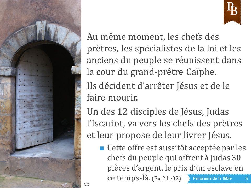 Panorama de la Bible 36 C est la raison pour laquelle Pilate se trouve dans le quartier général (prétoire) romain de Jérusalem.