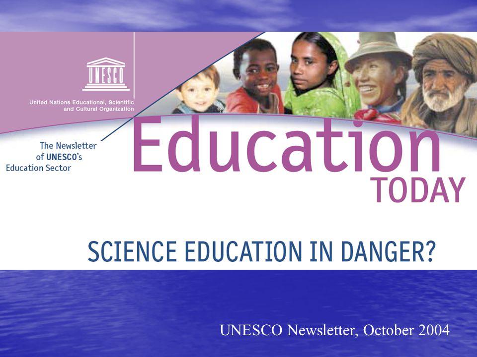 UNESCO Newsletter, October 2004