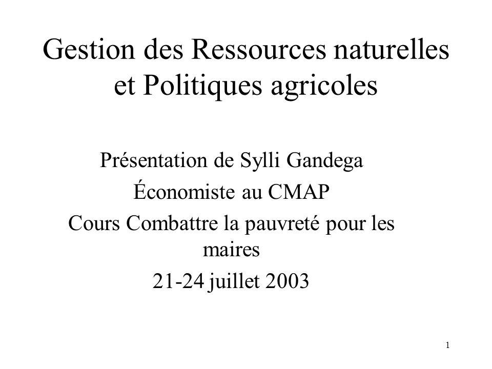 2 Références  Patrick Verissimo, présentation: combattre la pauvreté: stimuler l'agriculture et le développement rural.