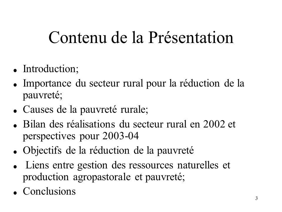 4 Introduction  La notion de ressources naturelles (RN) retenue ici couvre les ressources actuelles et potentielles qui sont de nature renouvelables (sols, eau, les forêts et autres végétations,les grands pâturages…).
