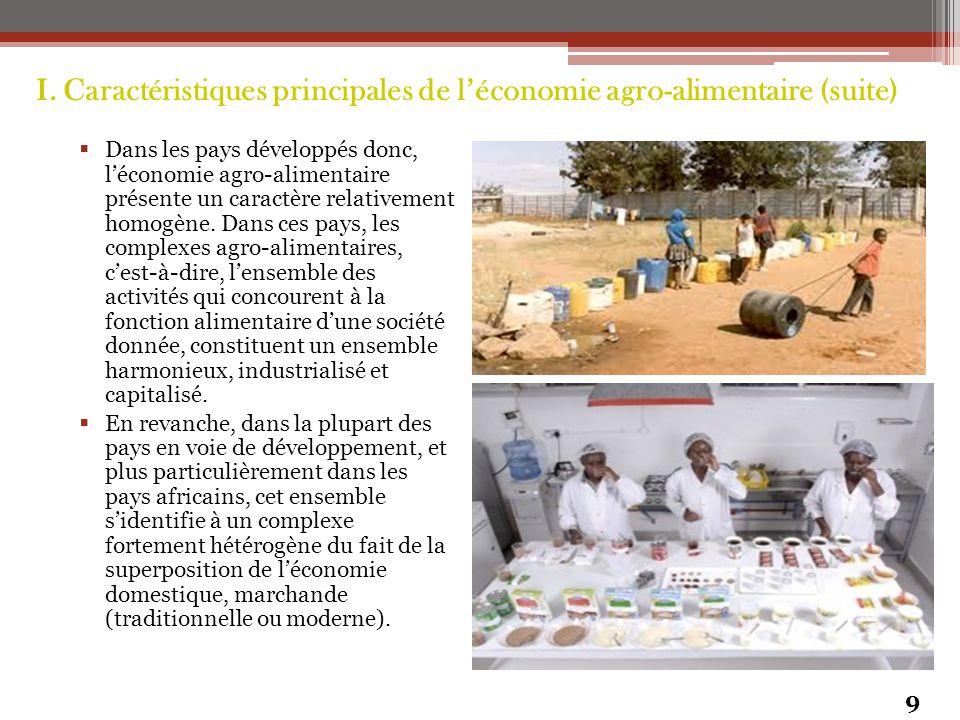 CONCLUSION (suite) L'agro-industrie, enfin, peut aider l'Afrique à accélérer son arrimage à l'économie mondialisée.