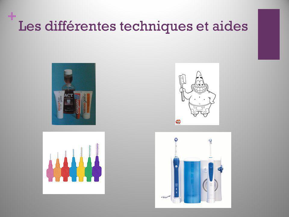 + Les différentes techniques et aides