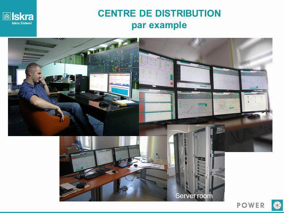 CENTRE DE DISTRIBUTION par example Server room