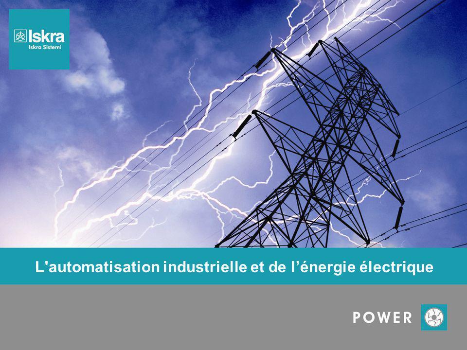 L'automatisation industrielle et de l'énergie électrique
