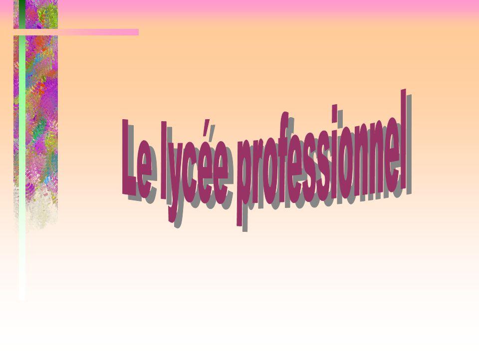 LYCEE PROFESSIONNEL LES COTEAUX Métiers de la mode et des industries connexes dominante couture flou