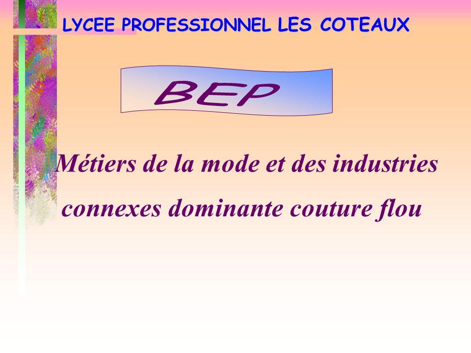 LYCEE PROFESSIONNEL LES COTEAUX Comptabilité Secrétariat  Commerce  Services (Accueil, assistance, conseil)  Vente (Prospection, négociation, suivi clientèle)