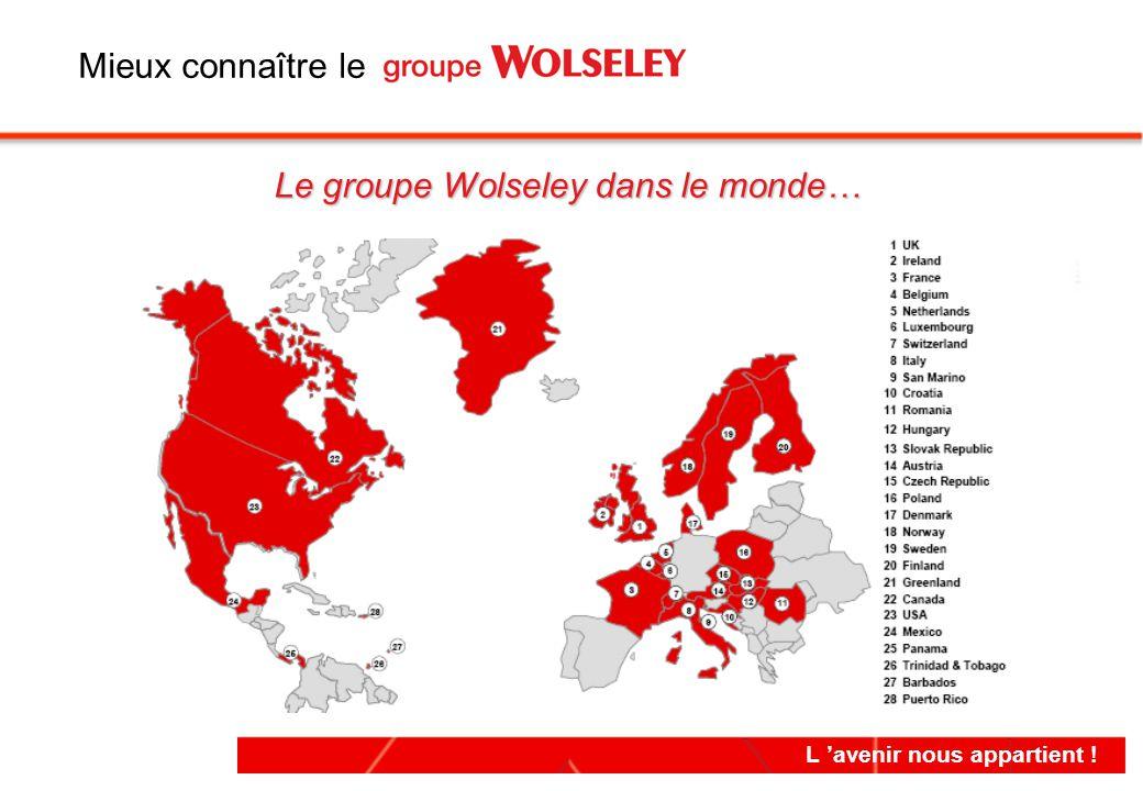 L 'avenir nous appartient ! Le groupe Wolseley dans le monde… Mieux connaître le