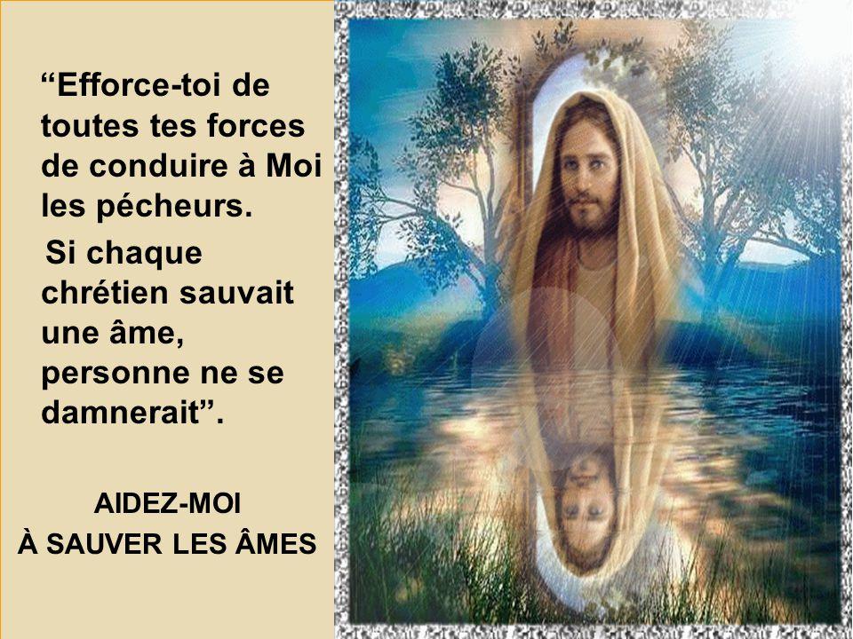 Ma FLAMME D'AMOUR est la présence de mon Fils Jésus en vos cœurs