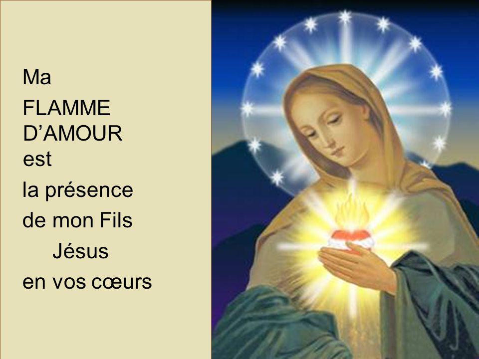 Chers frères et sœurs de la FLAMME D'AMOUR, nous qui connaissons déjà cette belle dévotion sommes remplis de joie dans le Seigneur parce que, par sa Très Sainte Mère, nous avons appris à L'aimer davantage.