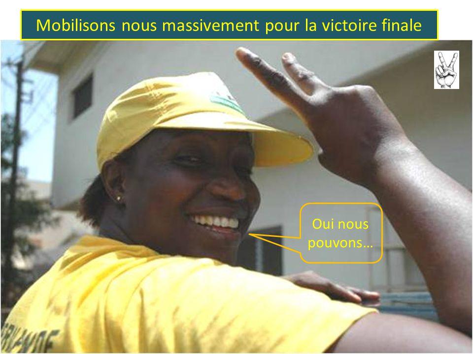 La patience est toujours couronnée de succès Vive Alpha Condé! Alpha puissanciii!