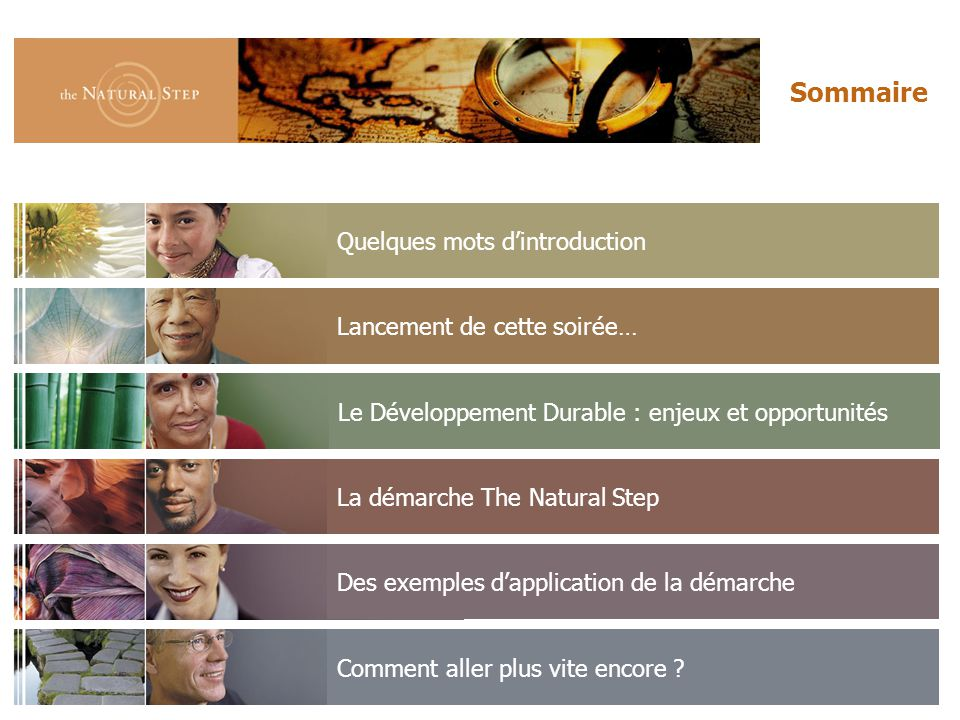 © 2006 The Natural Step France Comment faire.