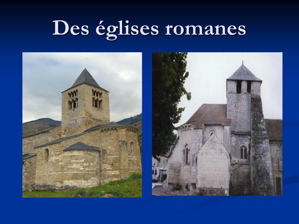 Des églises romanes