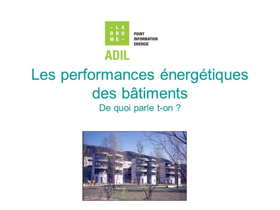 Les chiffres clefs du secteur résidentiel et tertiaire en France Source : Observatoire de l énergie (bilans de l énergie) (43 en 1973)(14 en 1973) Résidentiel = 2 milliards de m 2 30 millions de logements Tertiaire = 814 millions de m 2