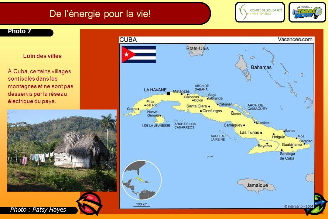 Loin des villes À Cuba, certains villages sont isolés dans les montagnes et ne sont pas desservis par la réseau électrique du pays. Photo 7 Photo : Pa
