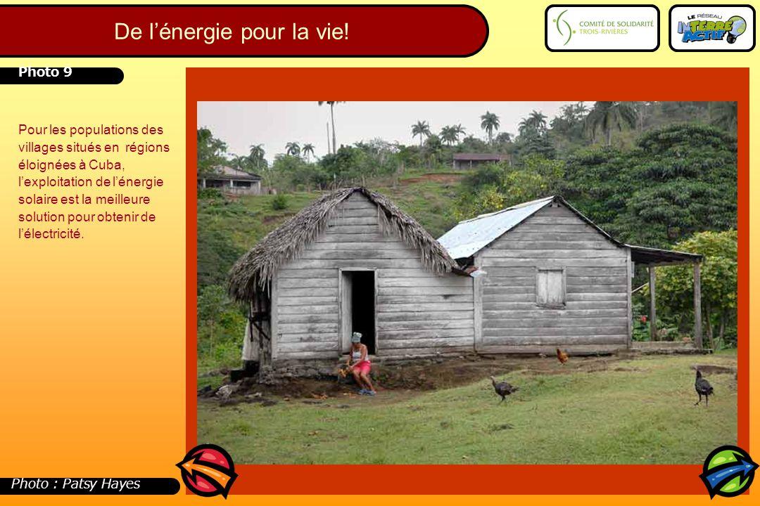 Pour les populations des villages situés en régions éloignées à Cuba, l'exploitation de l'énergie solaire est la meilleure solution pour obtenir de l'