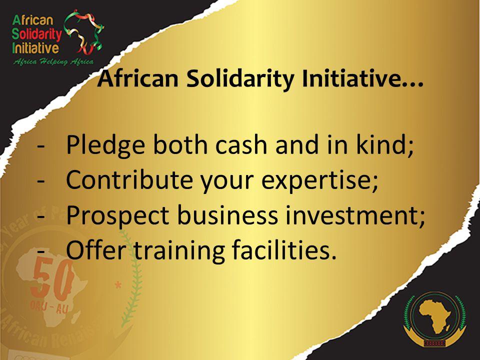 Suivez-nous sur twitter: @AU_PSD # L'AfriqueAidel'Afrique