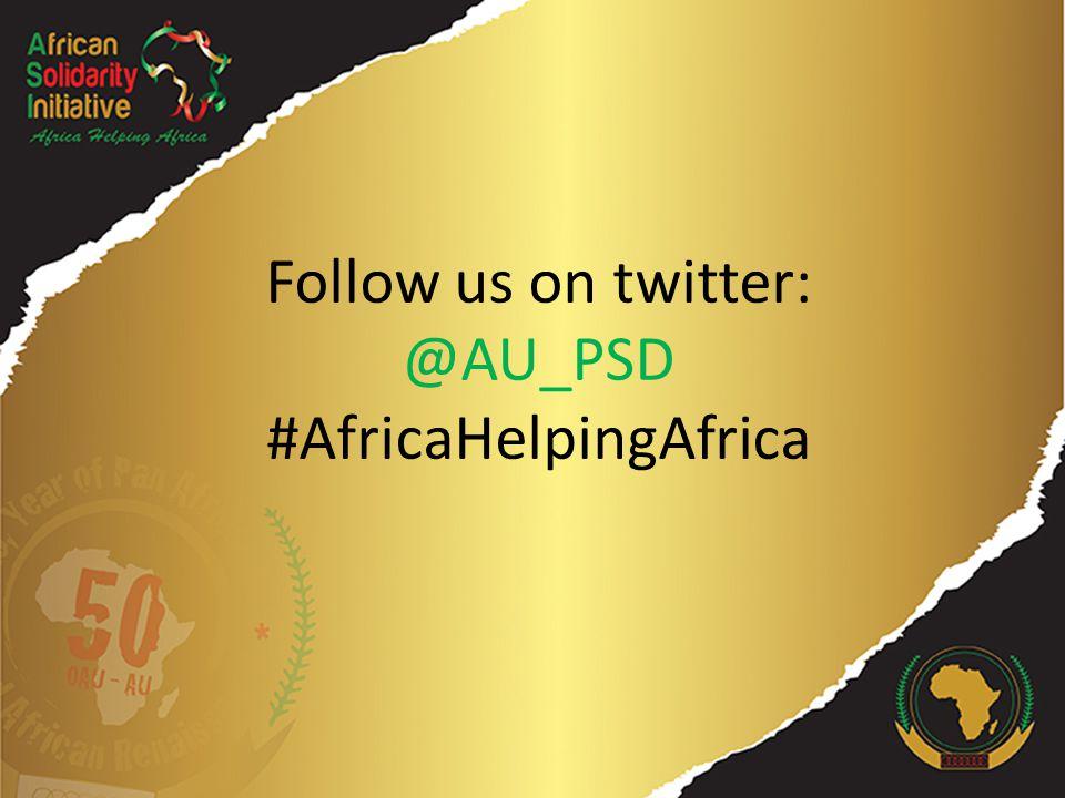 Initiative de Solidarité Africaine «L'Afrique aide l'Afrique»
