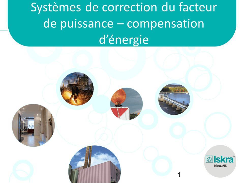 Iskra MIS Systèmes de correction du facteur de puissance – compensation d'énergie 1