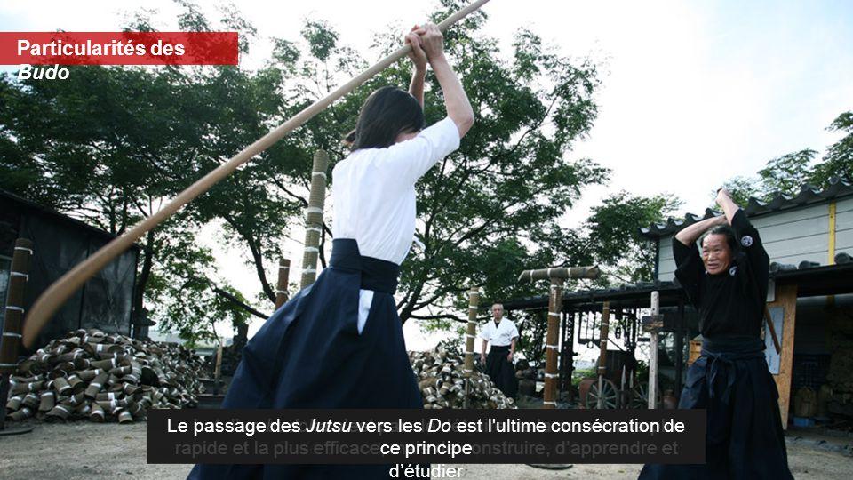 Particularités des Budo Héritiers des anciennes techniques guerrières médiévales, les Budo en sont différents par l'objectif Le but d'un budoka n'est