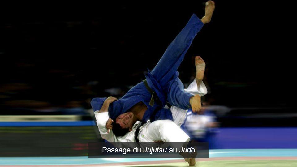 Passage du Jujutsu au Judo