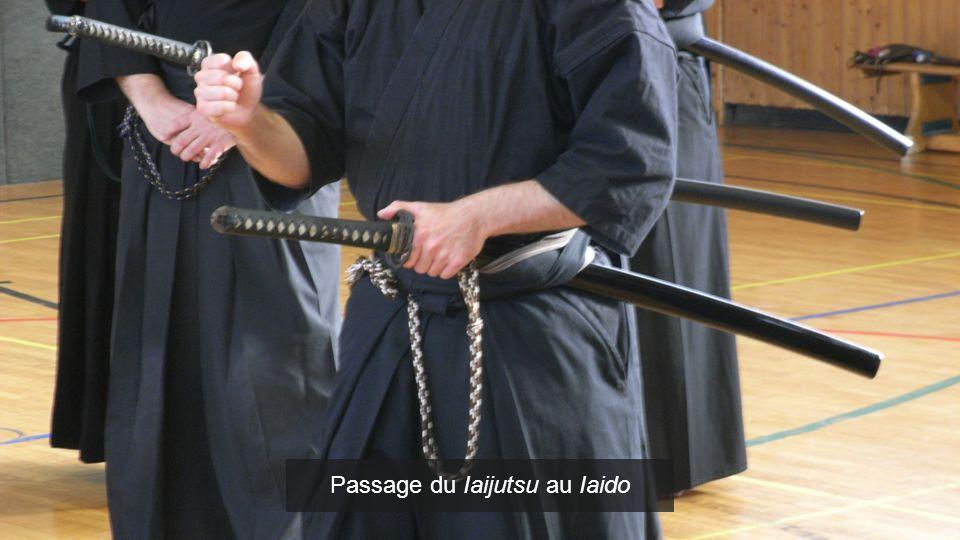 Passage du Iaijutsu au Iaido