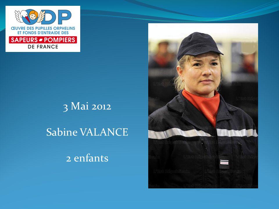 3 Mai 2012 Sabine VALANCE 2 enfants
