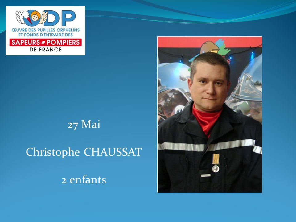 27 Mai Christophe CHAUSSAT 2 enfants