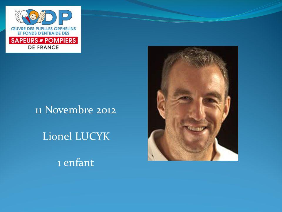 11 Novembre 2012 Lionel LUCYK 1 enfant