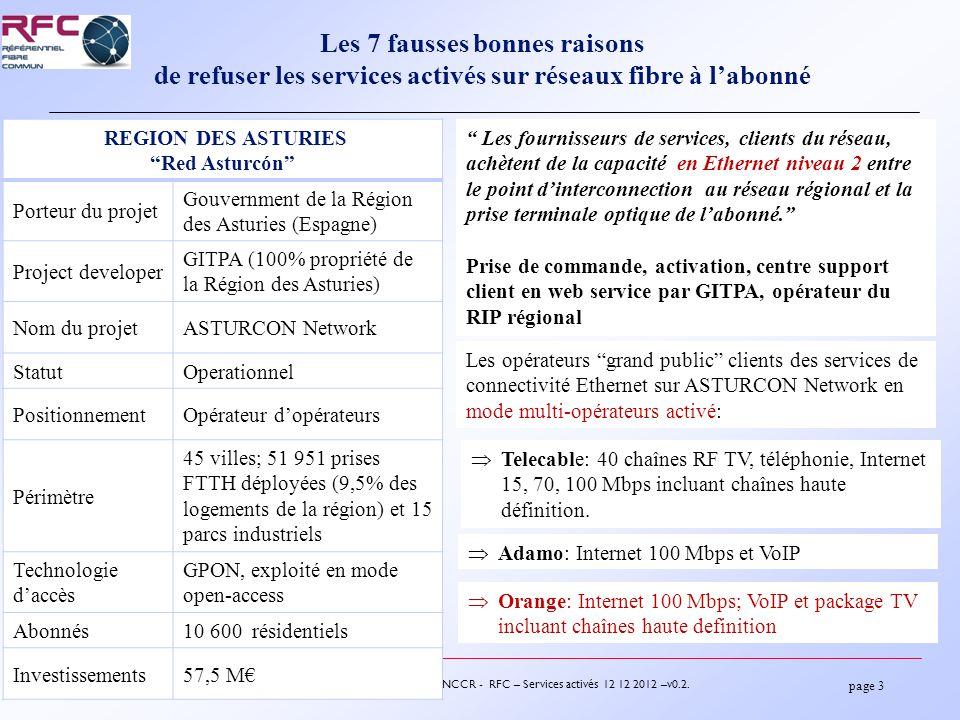 page 14 12-7722 – FNCCR - RFC – Services activés 12 12 2012 –v0.2.