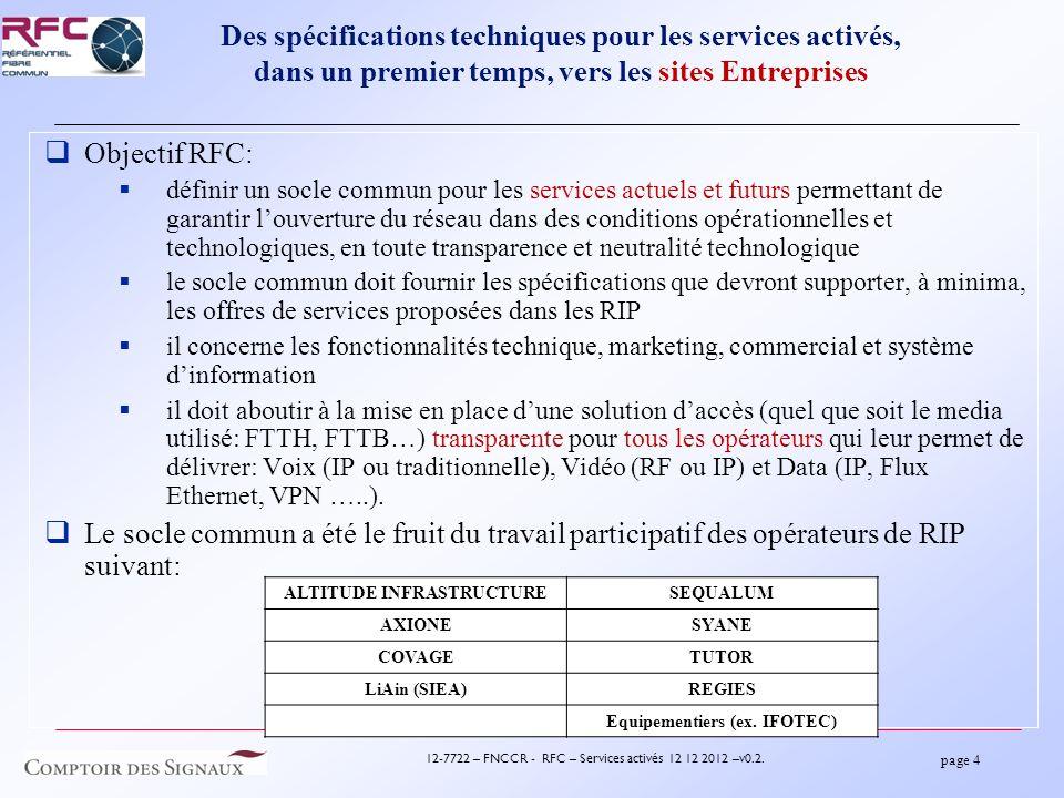 page 4 12-7722 – FNCCR - RFC – Services activés 12 12 2012 –v0.2.