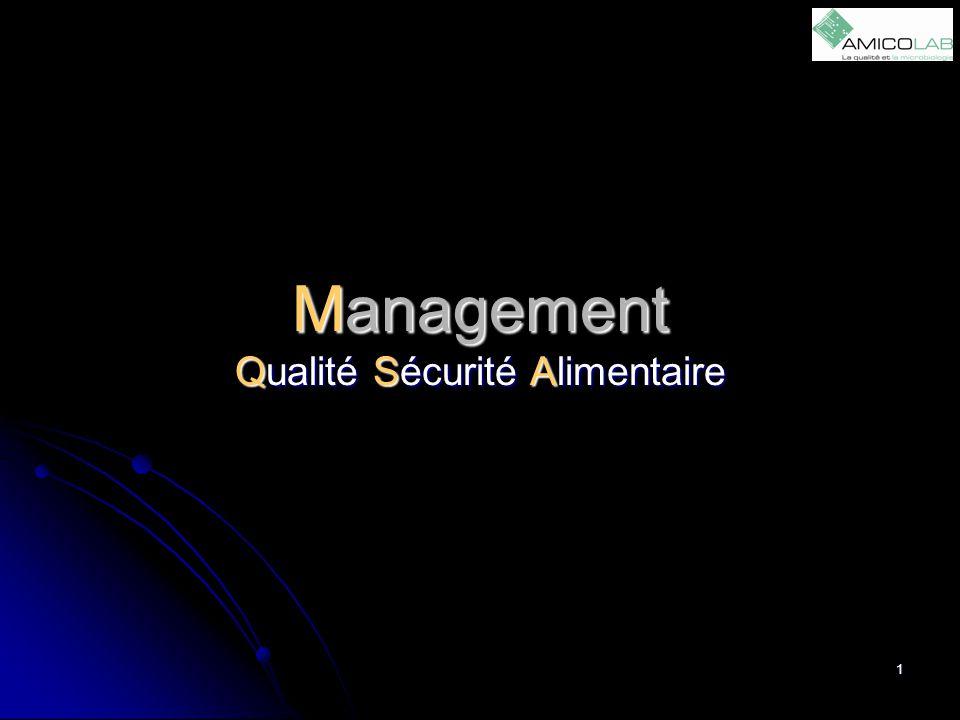 Management Qualité Sécurité Alimentaire 1