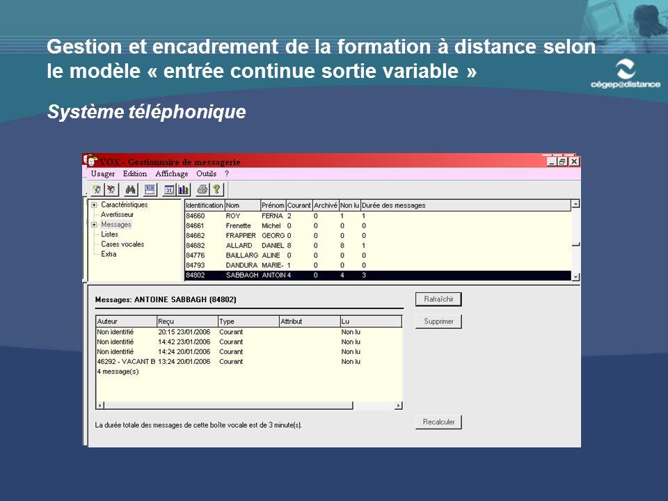 Environnement d'apprentissage Internet SOCI (Système d'offre de cours par Internet)