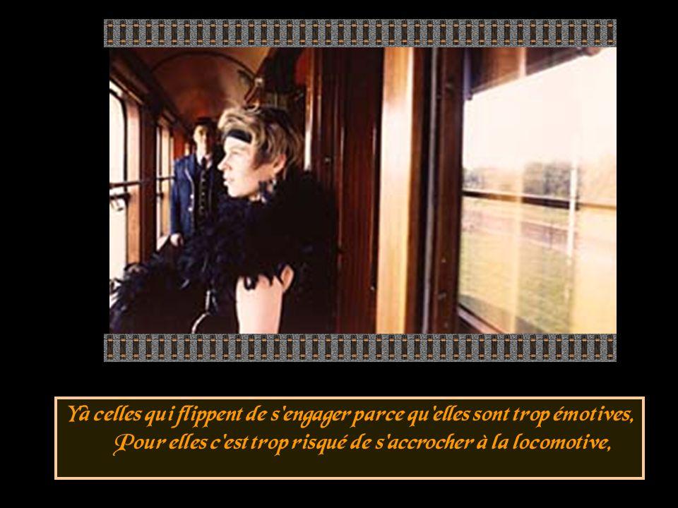 Et y'a ceux qui foncent dans le premier train sans faire attention, Mais forcément ils descendront déçus à la prochaine station,