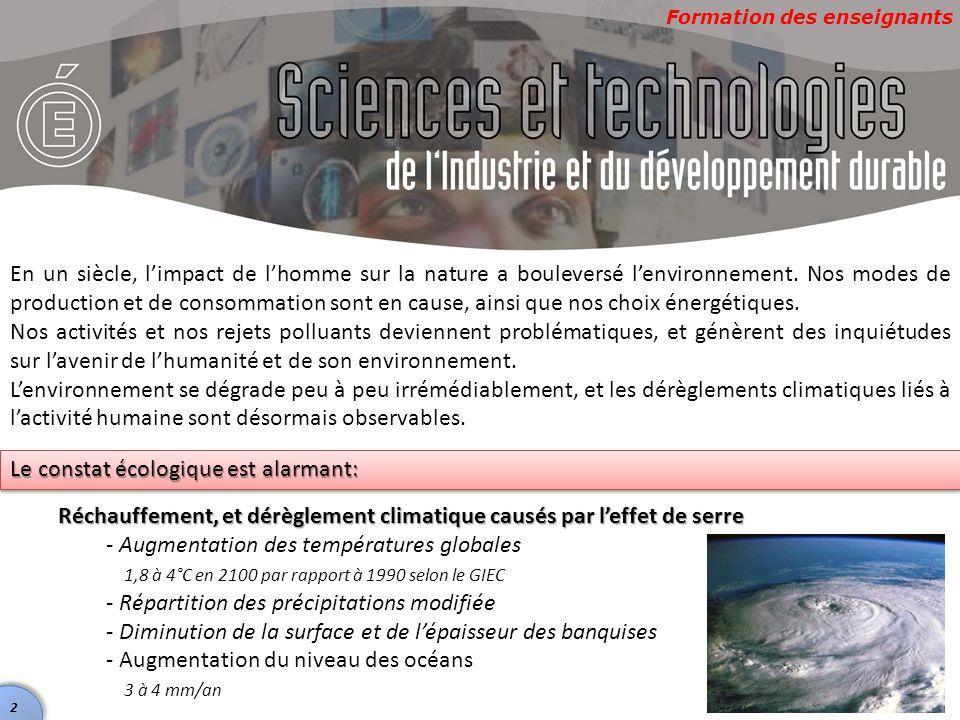 Formation des enseignants Le cyclopousse Gestion des risques (naturels, industriels)  Ce projet permet d'éviter des risques potentiels.
