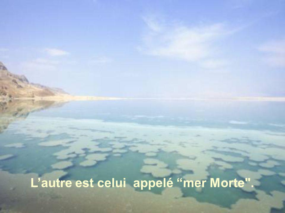 L'un est le lac de Génésareth, connu aussi comme mer de Galilée ou lac de Tibériade.